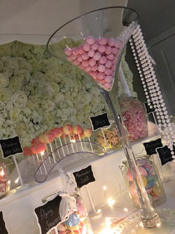 CANDY CART WEDDING HIRE