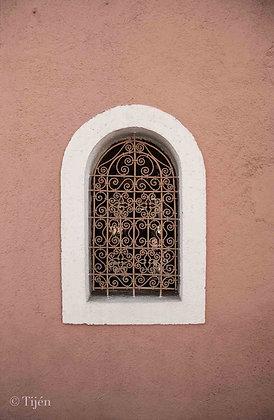 Taghazout village window