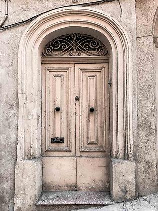 Old Beige Door Malta
