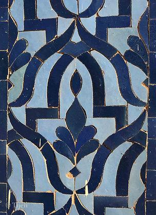 Morocco bluetiles