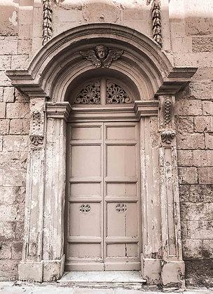 Beige Door Malta
