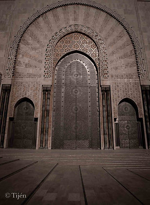 Casablanca Mosque Door