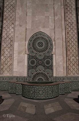 Casablanca Mosque Fountain