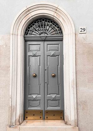 Malta grey Door