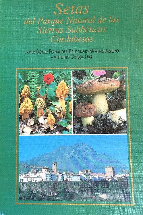 Libro Setas Sierras Subéticas Cordobesas