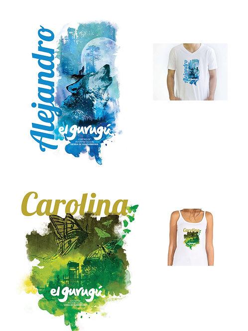 Camiseta diseño