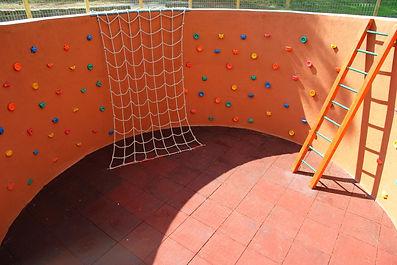 Rocódromo infantil Área Medioambiental El Gurugú CINsierradeguadarrama Instalaciones