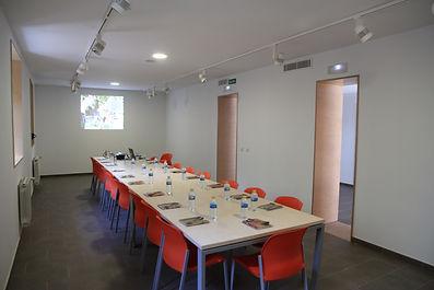 Edificio talleres actividades, sala de reuniones, Area Medioambiental El Gurugú