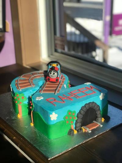 Thomas Number Cake