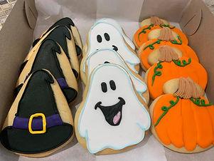 halloween sugar cookie box ghosts pumpkins witch hats.jpg