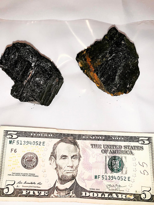 Large Palm Size Black Tourmaline
