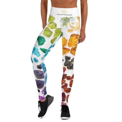 Crystals Yoga Leggings