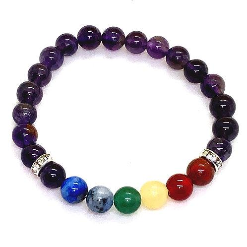 Amethyst Chakra Bracelet