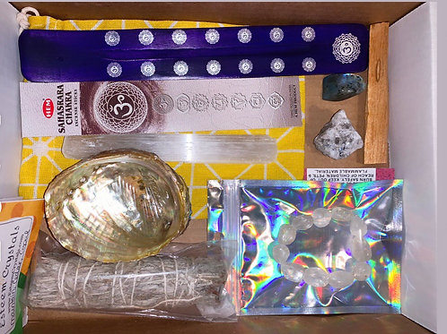 Crown Chakra Care Package