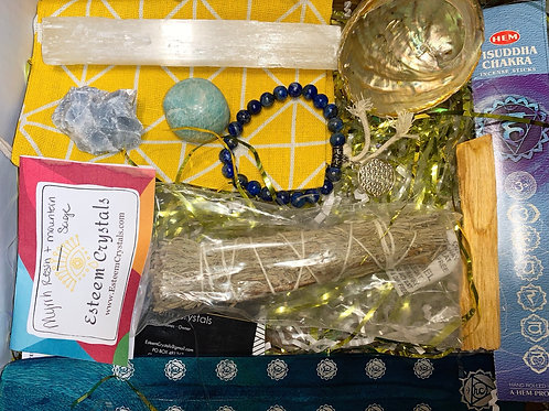 Throat Chakra Care Package