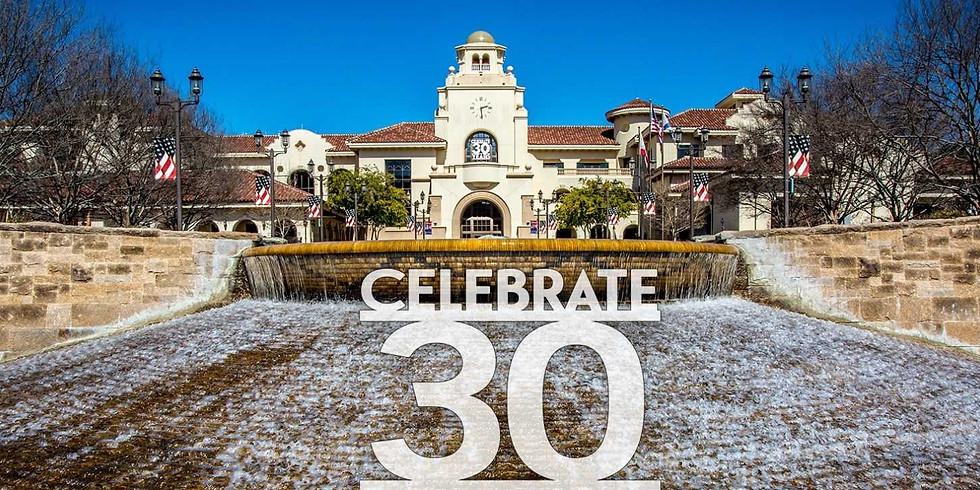 City of Temecula's 30th Anniversary