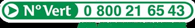 Numero vert Saficard
