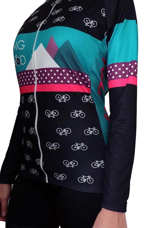 "Camiseta Mujer ""Ride Mood"""