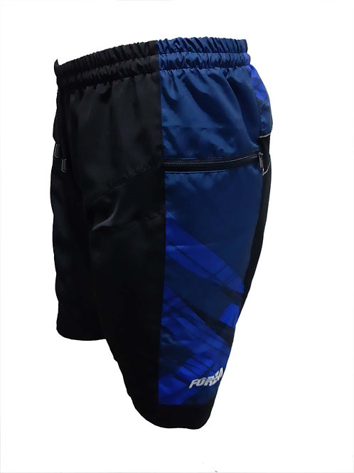 Bermuda MTB azul
