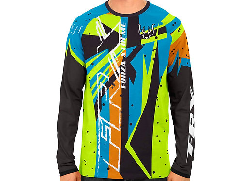 """Jersey """"Color attack"""""""