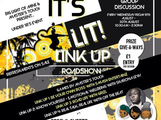 Upcoming Event:                                       It's Lit! - Link Up Roadshow