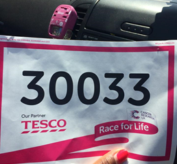 Race for Life - (At Kempton Park Racecourse)