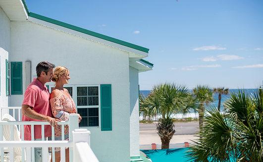 beach resort photography