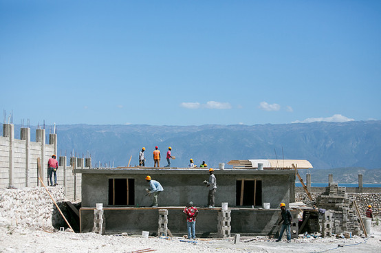 new building in haiti