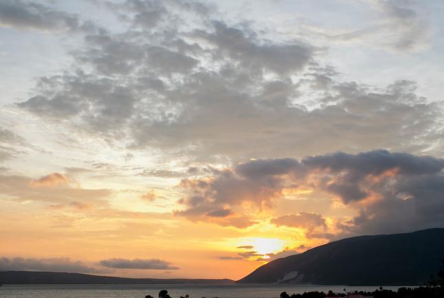 haitian sunrise