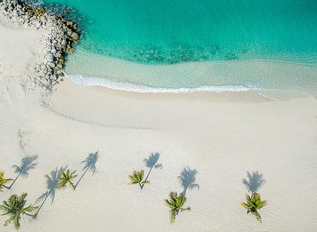 Drone shot of Bimini Bahamas photo  by Jenny Schartner