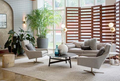 Interior Living Room design in Miami  by Jenny Schartner