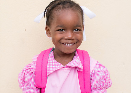 haitian school girl