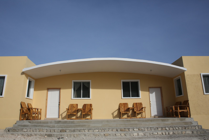 building in haiti