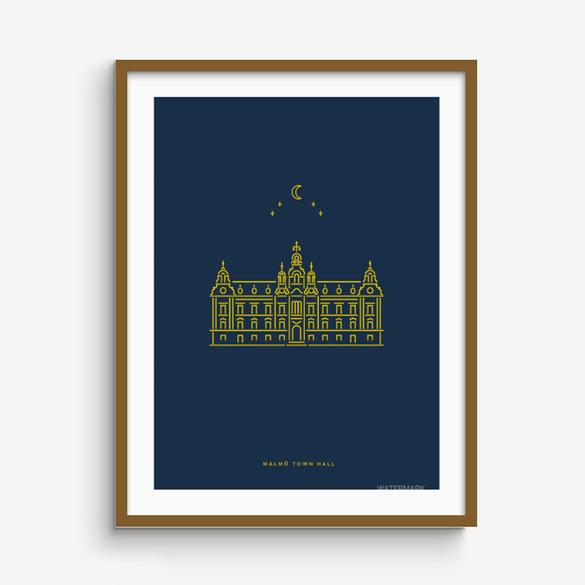 Town Hall print