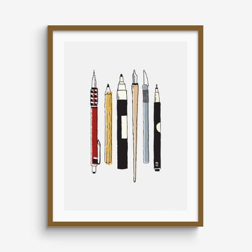 Pens print