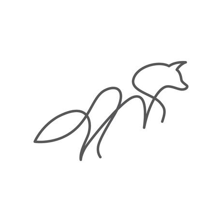 Singleline Fox