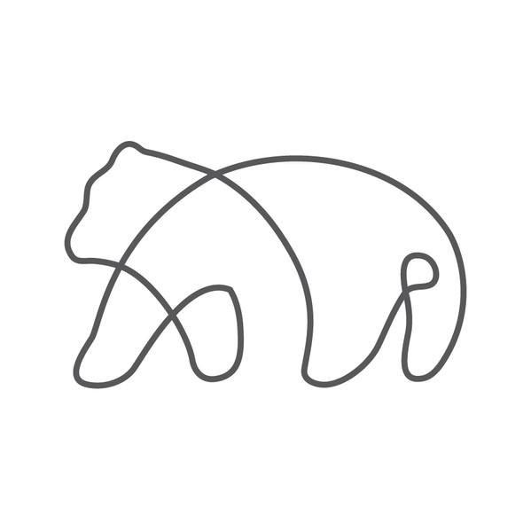 Singleline bear