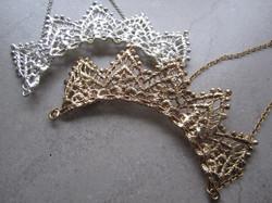 Wedding Crowns in Vintage Lace