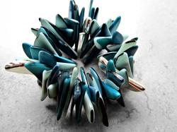 Turquoise Tagua Bracelet by Belart