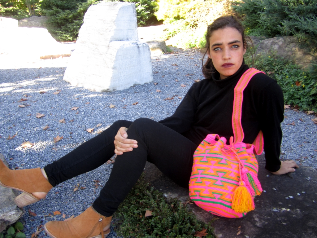 Wayuu Fair Trade Bag in Pink