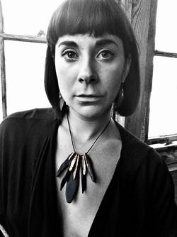 Stone Necklace by Aleja Designs