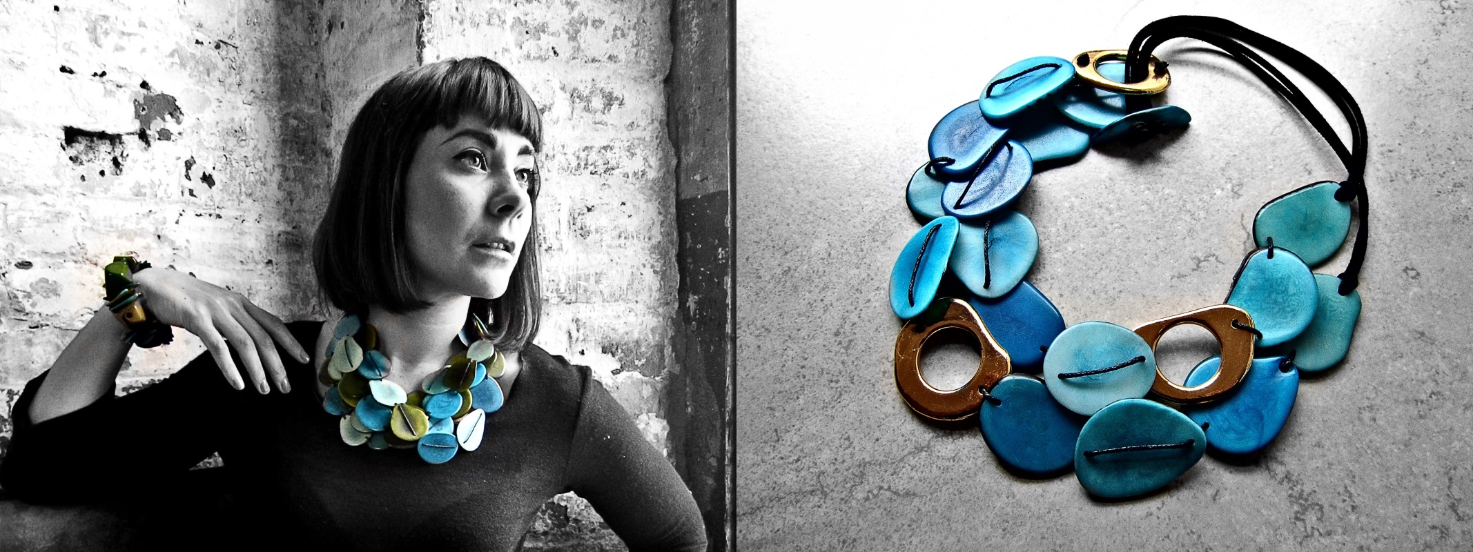 fair trade tagua jewelry by Belart
