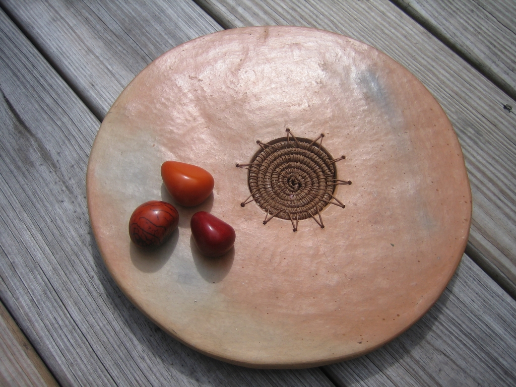 Red Tagua Nuts for Home Design