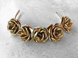 Gold Rose Tiara/Diadem by Belart