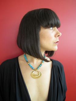 Turqoise Pre-Columbian Necklace