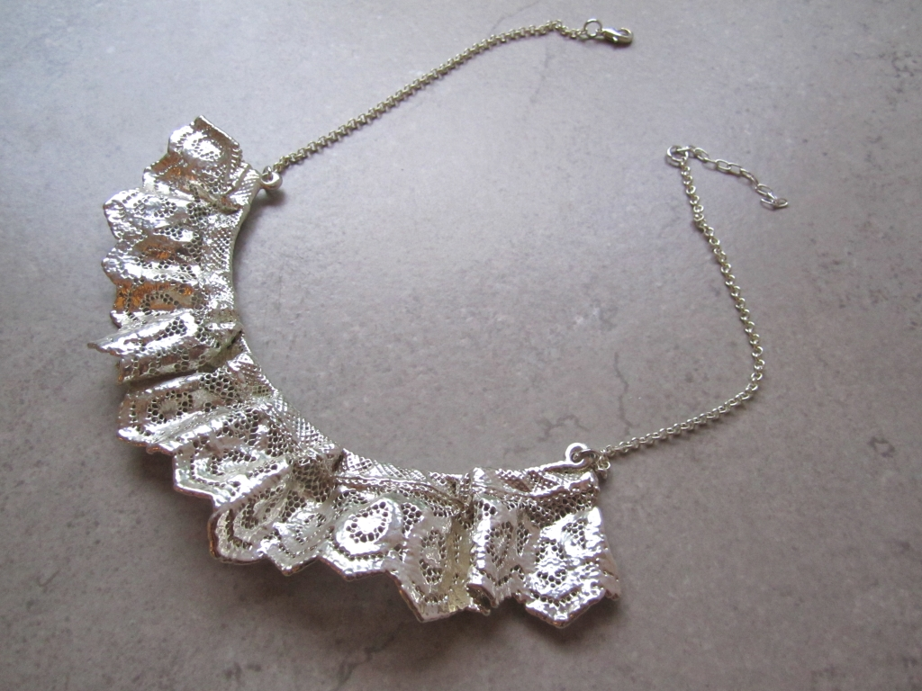 Vintage Lace Necklace by Belart
