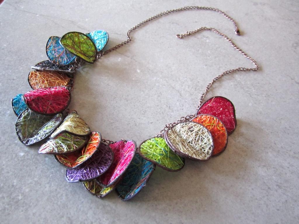 Colorful Fique Necklace by Belart