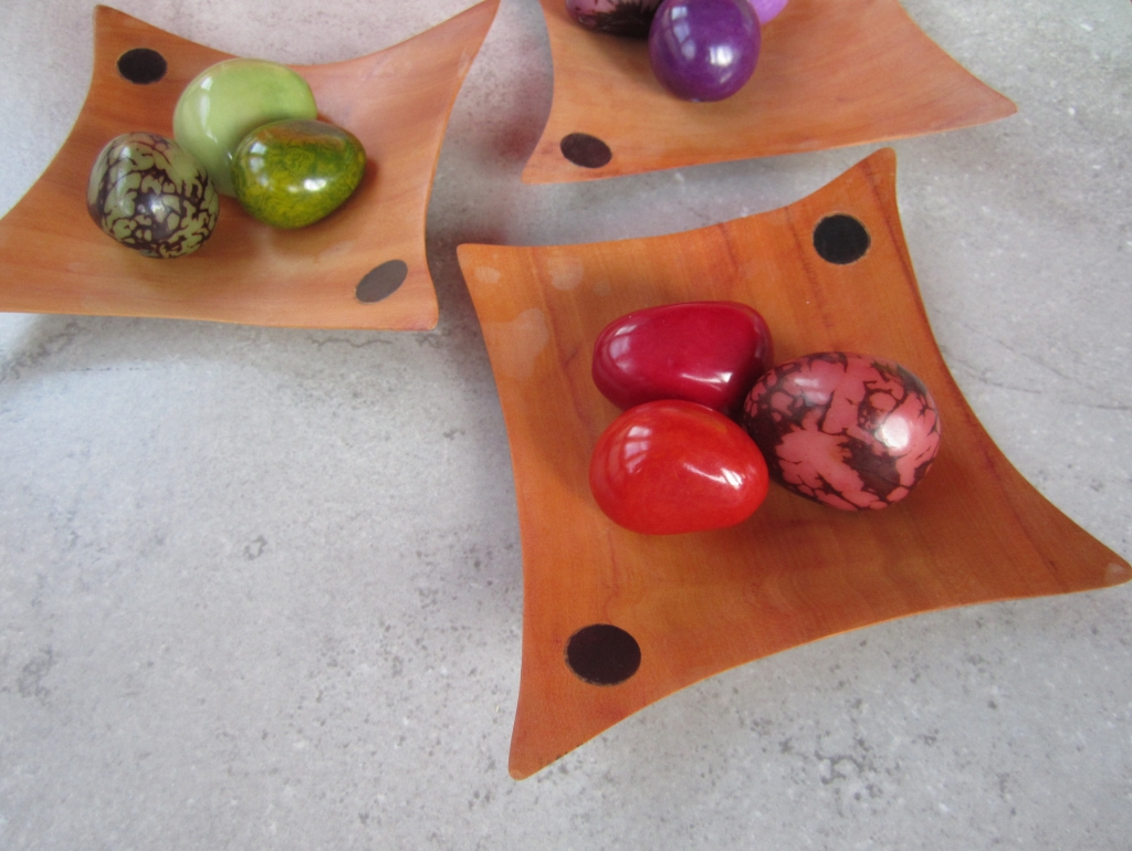 Colorful Tagua Nut Pods Home Design