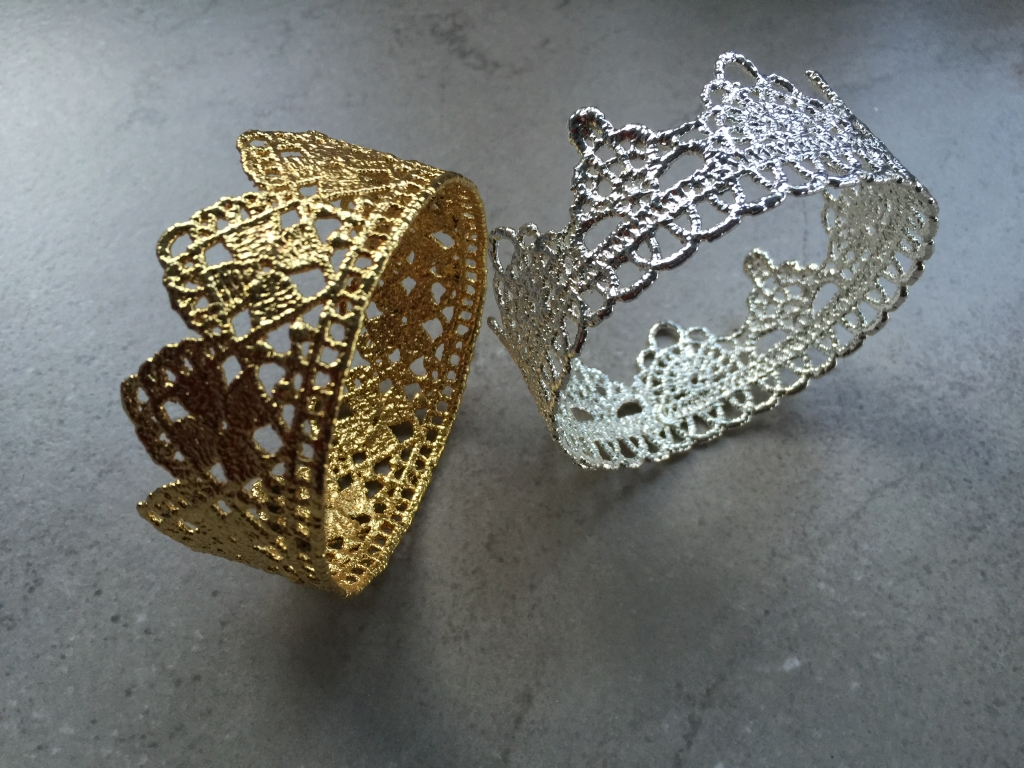 VIntage Lace Rings in Gold or Silver