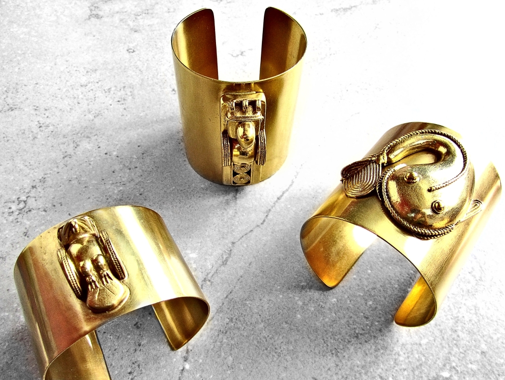 Pre-Columbian Rings in Gold